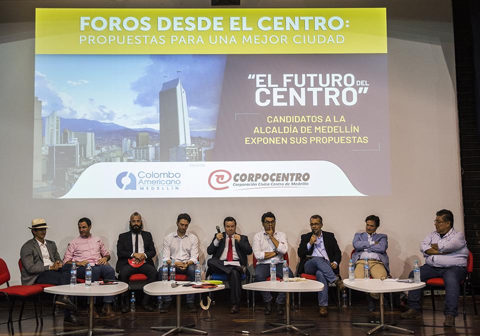 Comunidad del centro conoció las propuestas de los candidatos a la Alcaldía
