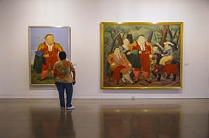 Museo de Antioquia interior