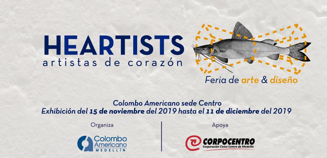 Corpocentro apoya Feria de arte y diseño Heartists
