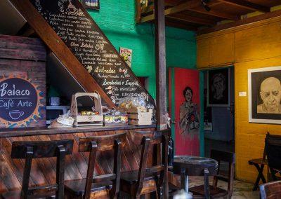 Teatro elemental, Cafe