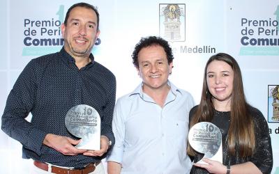 Periódico Centrópolis recibe dos premios de periodismo comunitario