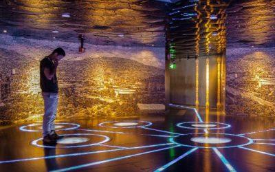 Un museo que fluye como el agua