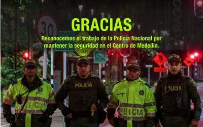 Reconocimiento a la labor de la Policía Metropolitana del Valle de Aburrá
