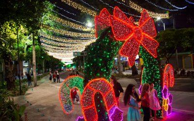 Navidad y alumbrados en el centro