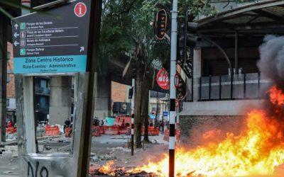 Desde Corpocentro rechazamos los actos vandálicos y las asonadas en Medellín